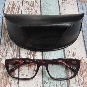 c1dd72f7aa8a Prada VPR 18O ROM-1O1 Eyeglasses Italy OLP256